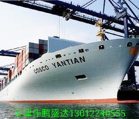 天津货代海运集装箱进出口业务内贸外贸;