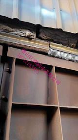 定制钢厂烧结环冷机台车密封钢刷-烧结机头尾密封钢刷-潜山江南刷业