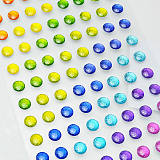 手机装饰贴纸 亚克力钻贴 水晶DIY贴纸生产定做成品加工;