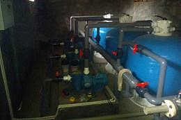 云南小区泳池水消毒系统厂家游泳池壁挂式一体机设备游泳池过滤设备