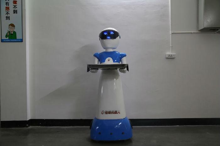 GYSC送餐机器人;