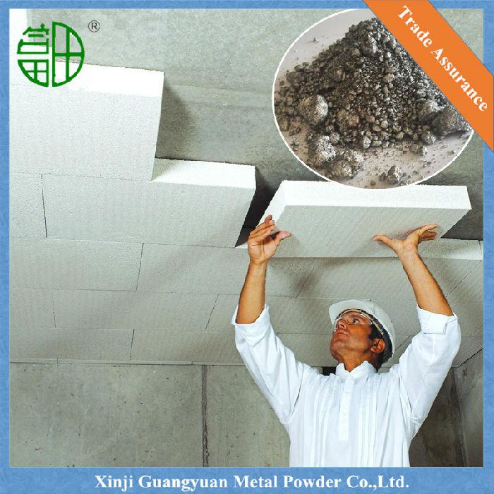 加气铝膏 由鳞片状铝粉、抗氧化剂、催乳剂组成 ,适用于水泥-石