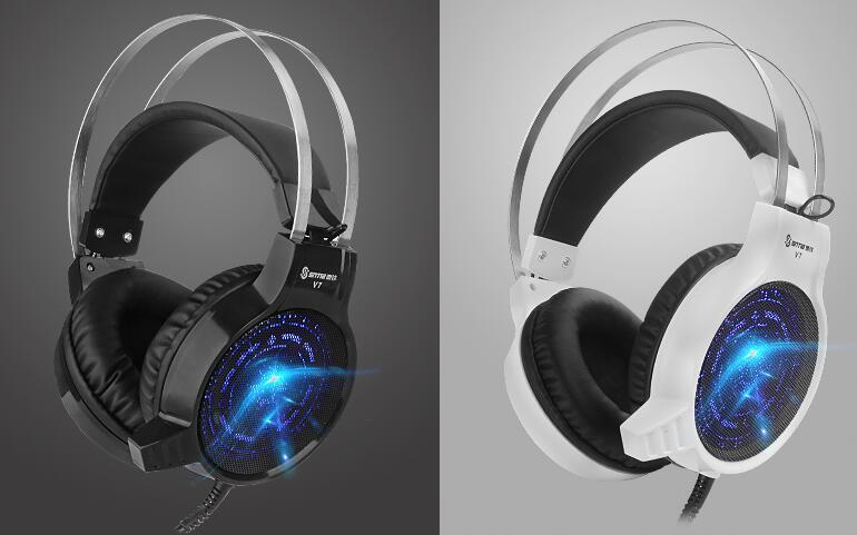 供应第一手资源游戏耳机耳麦,速钛V7发光耳机,电脑耳机