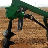 植树挖坑机 电线杆挖坑机 拖拉机挖坑机;