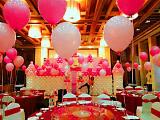 成都多彩气球装饰造型,承接宝宝宴,生日寿宴,婚礼,商业活动现场布置;