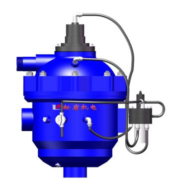 水力自清洗過濾器的原理