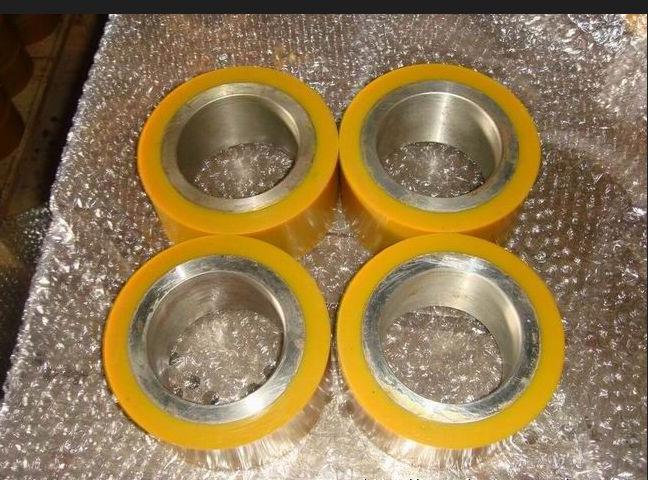 供应湖北武汉、宜昌、襄阳聚氨酯胶轮,聚氨酯滚轮,加工包胶;