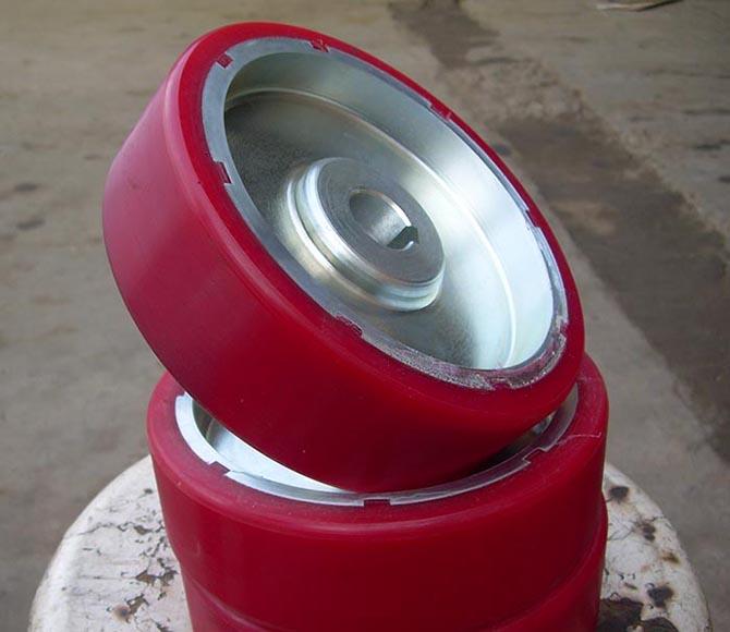 湖北橡胶胶轮,武汉聚氨酯胶轮,武汉聚氨酯橡胶轮包胶挂胶厂;