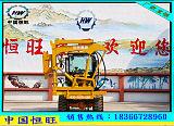 装载护栏打桩机 可打混凝土的打桩机 装载式护栏打桩机;