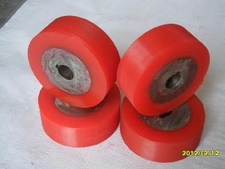 江西南昌专业制作聚氨酯包胶轮、PU胶轮、铝合金胶轮、耐磨性好;