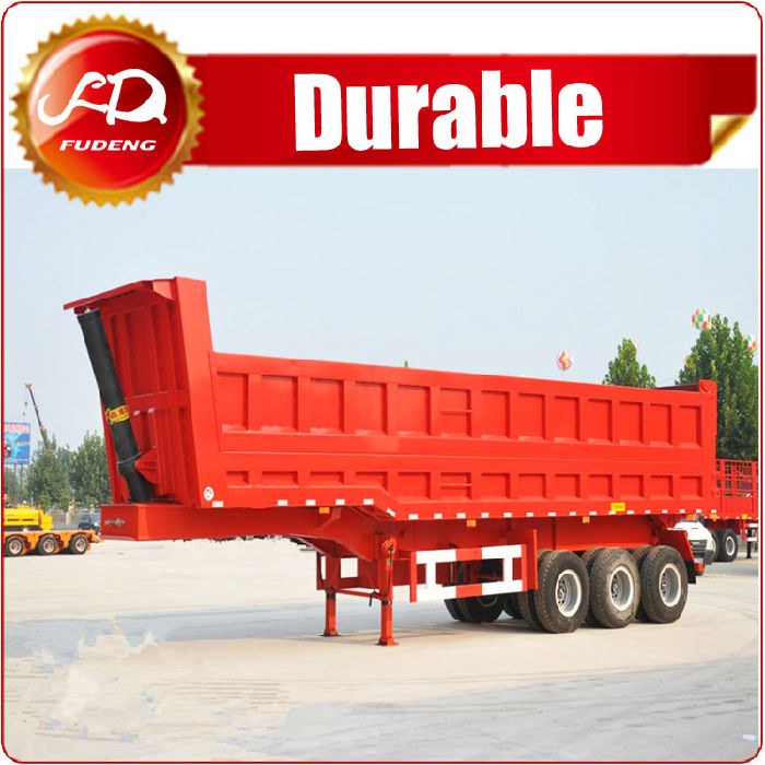 3 axle Semi Dump Truck For Sale ;