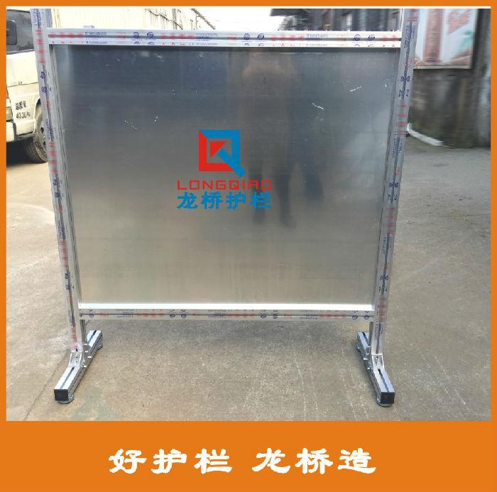 桐乡电厂安全围栏 桐乡全铝合金材质 铝合金电厂安全护栏 可移动;