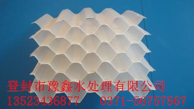 豫鑫厂家供应优质蜂窝斜管填料;