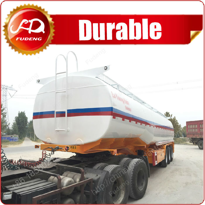 Fuel tanker semi trailer,used oil tanker;
