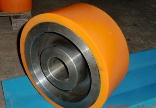 供应武汉聚氨酯滚轮包胶加工,武汉耐磨聚氨酯胶轮包胶加工;