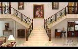 供应高端静电喷涂式铁艺楼梯;