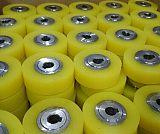 江西南昌输送设备用聚氨酯包胶胶轮,胶轮包胶加工
