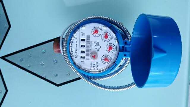 重庆水表 RS485接口光电直读远传水表;