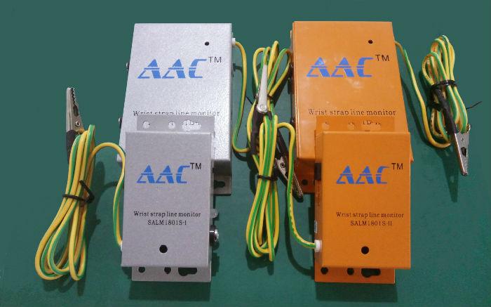 SALM1801S-I 手腕带在线监控器防静电手腕带报警器静电环接地系统监控器;