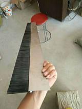 铝合金长条刷毛刷 h型铝合金条刷 工业机床挡屑密封毛刷 ;