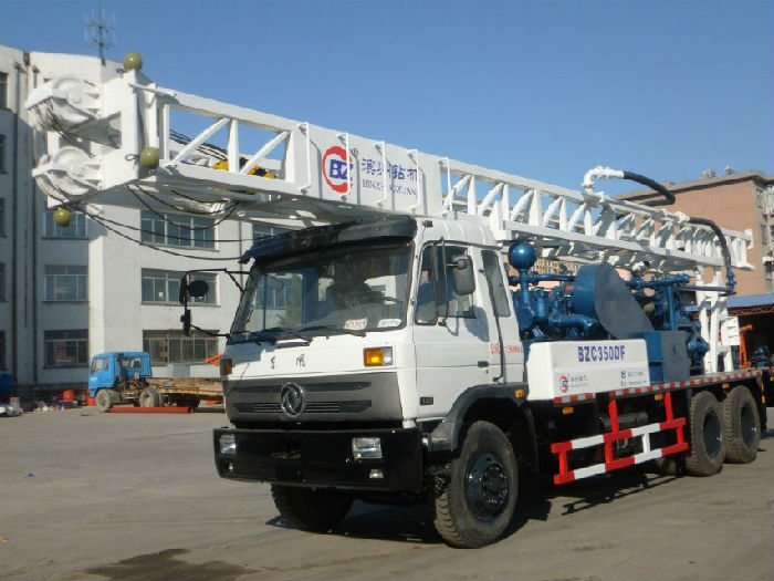 供应BZC350DF车载式水井钻机;