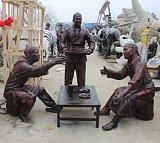 河北玻璃鋼雕塑定製廠家,向雷雕塑,品質之選;