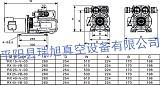 瑞旭真空泵RX40-V-03無油真空泵無油旋片真空泵