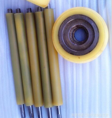 供应武汉聚氨酯胶轮,武汉机械设备上胶轮包胶,胶辊包胶;