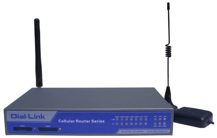LTE双路路由器,4G无线路由器,4G双路双卡路由器;