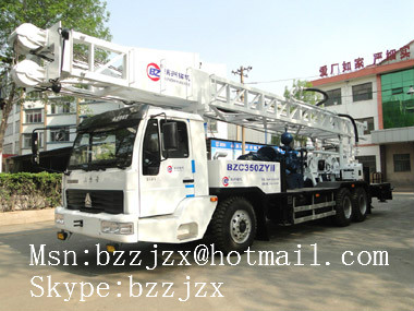 供应BZC350ZYII车载式水井钻机;