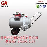 PY系列碳钢半固定式泡沫灭火装置轻便推车式消防泡沫罐厂家批发;