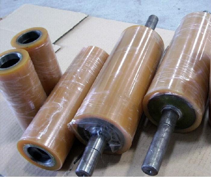 湖北聚氨酯滚轮,聚氨酯滚筒,滚轮包胶,武汉滚筒包胶;