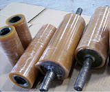 湖北聚氨酯滚轮,聚氨酯滚筒,滚轮包胶,武汉滚筒包胶