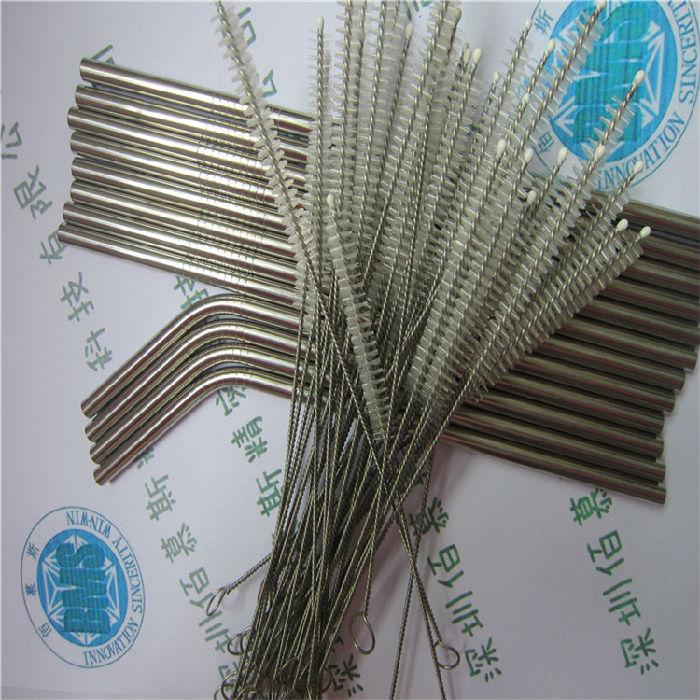 食品级不锈钢吸管 30OZ 20OZ不锈钢吸管 马克杯金属弯吸管;