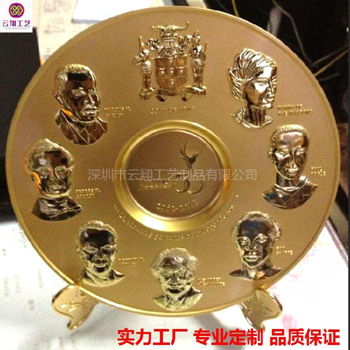 厂家定做礼品纪念盘 广州大学纪念盘定做企业庆典活动纯银纪念币定做