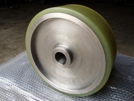 江西聚氨酯胶轮,江西橡胶滚轮,江西聚氨酯包胶,江西PU包胶轮;