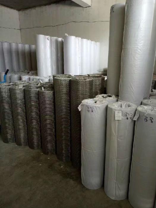 超宽金属不锈钢网 不锈钢宽幅网 不锈钢丝网优质供应商v;