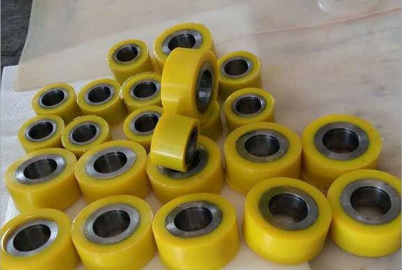 湖北武汉生产各种橡胶轮,PU轮,聚氨酯胶轮,耐磨不脱胶;