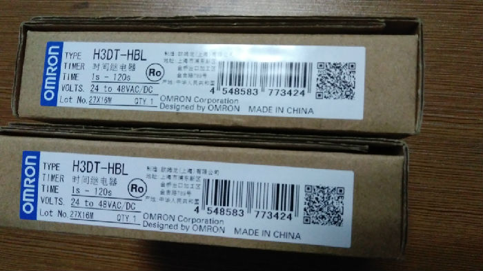 H3DT-HBL欧姆龙原装正品时间继电器 厦门市湖里大道78号中国石化大厦311;