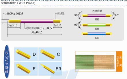 线针-复合针-PCB测试针;