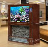 水族箱,水幕生态鱼缸 鑫德龙水族;
