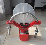 ZSJZ马鞍式水流指示器 荣乐消防器材配件批发流量控制器DN100;