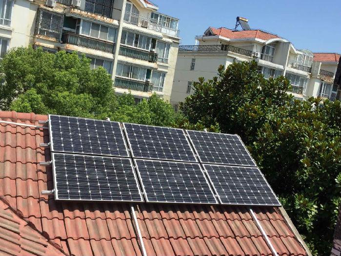苏州家庭屋顶太阳能光伏发电安装;
