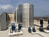 高溫屠宰熱泵:75℃屠宰場空氣能高溫熱水;