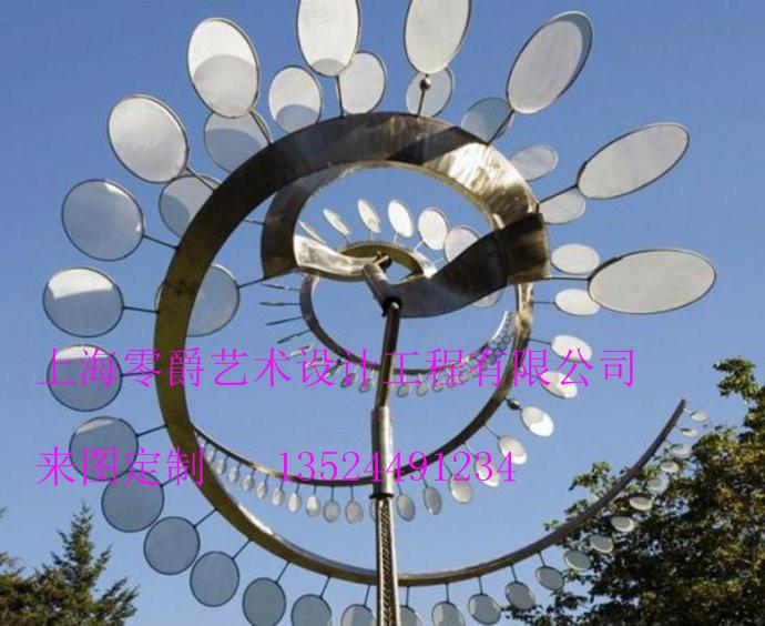 上海展览万达大型城市不锈钢烤漆玻璃钢雕塑