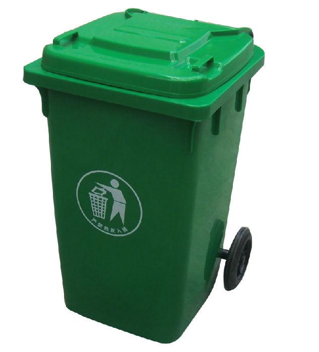 120L塑料垃圾桶;