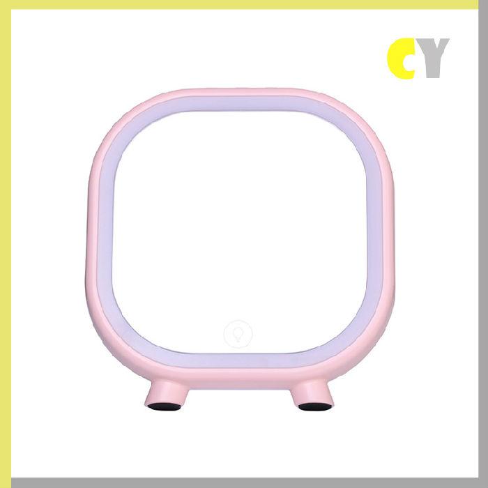供应2017新款创意LED蓝牙音响化妆镜礼品台灯 卧室家居充电台灯;