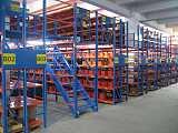 中山货架厂阁楼货架仓储空间设计厂家定做;