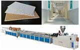PVC護墻板生產線設備PVC型材線扣板擠出機生產線設備