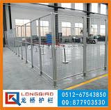 天门机器人围栏 天门工业机器人安全围栏 钢丝网围栏 龙桥专业按需定制;